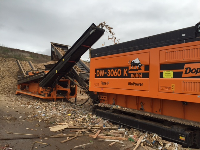 Exciting wood waste recycling news from EMS Waste Services