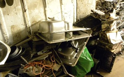 Scrap metal – what can be recycled? Everything including the kitchen sink!